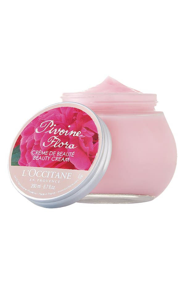 Alternate Image 1 Selected - L'Occitane 'Pivoine Flora' Beauty Cream