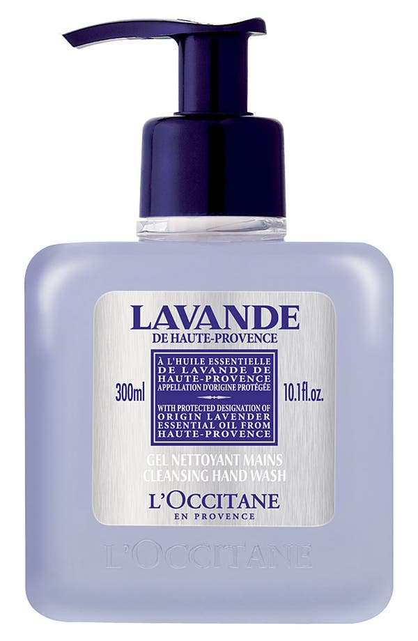 Main Image - L'Occitane Lavender Cleansing Hand Wash