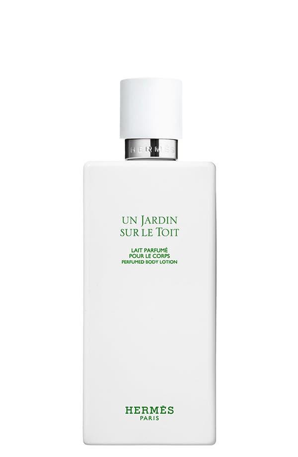 Main Image - Hermès Un Jardin sur le Toit - Perfumed body lotion