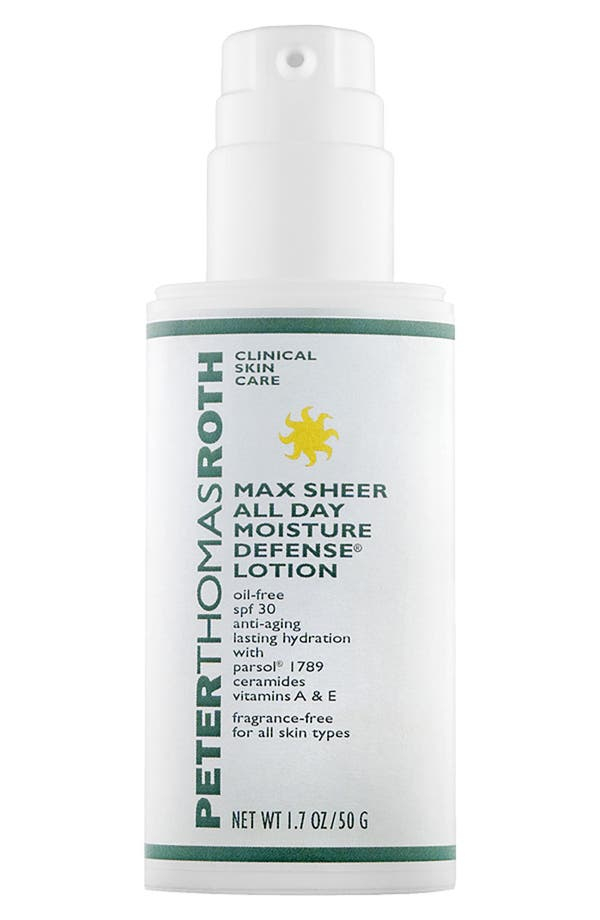 Main Image - Peter Thomas Roth Max Sheer All Day Moisture Defense Lotion SPF 30