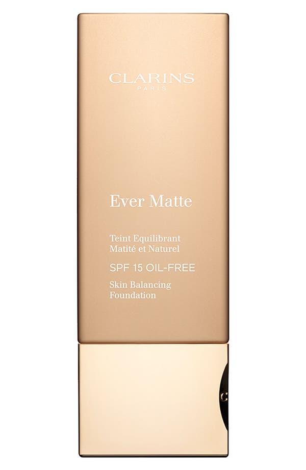 Main Image - Clarins 'Ever Matte' Foundation SPF 15