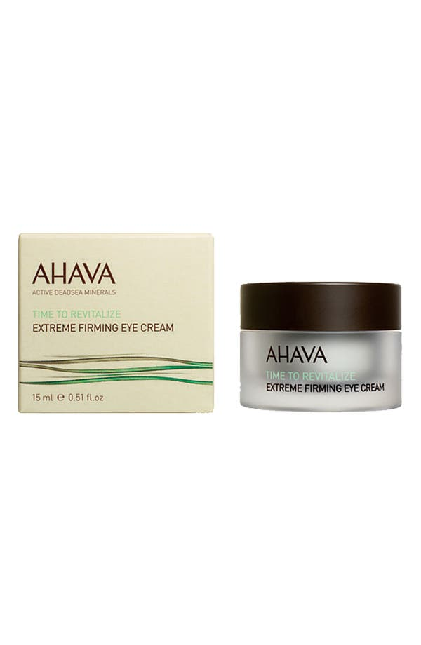 Main Image - AHAVA 'Time to Revitalize' Extreme Firming Eye Cream
