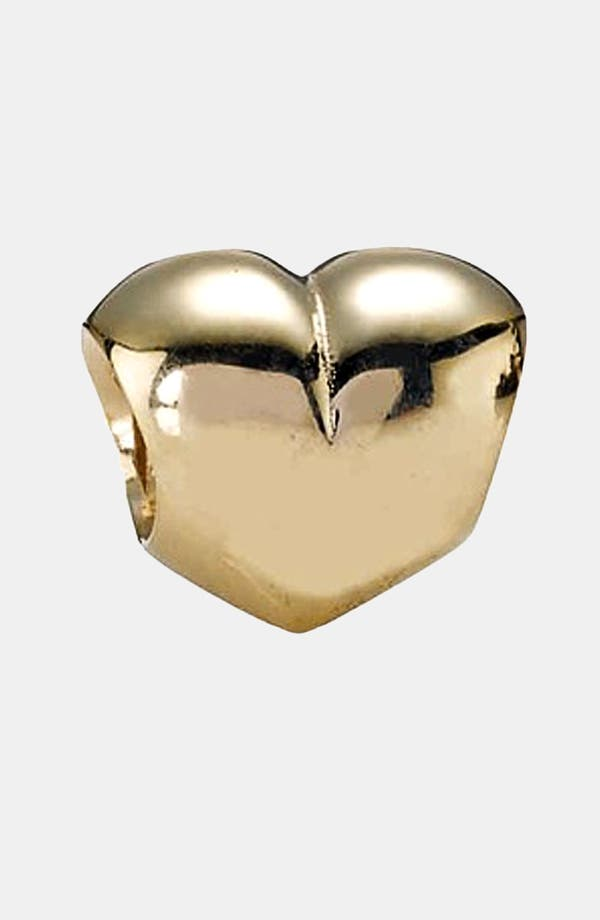 Alternate Image 1 Selected - PANDORA Heart Gold Charm
