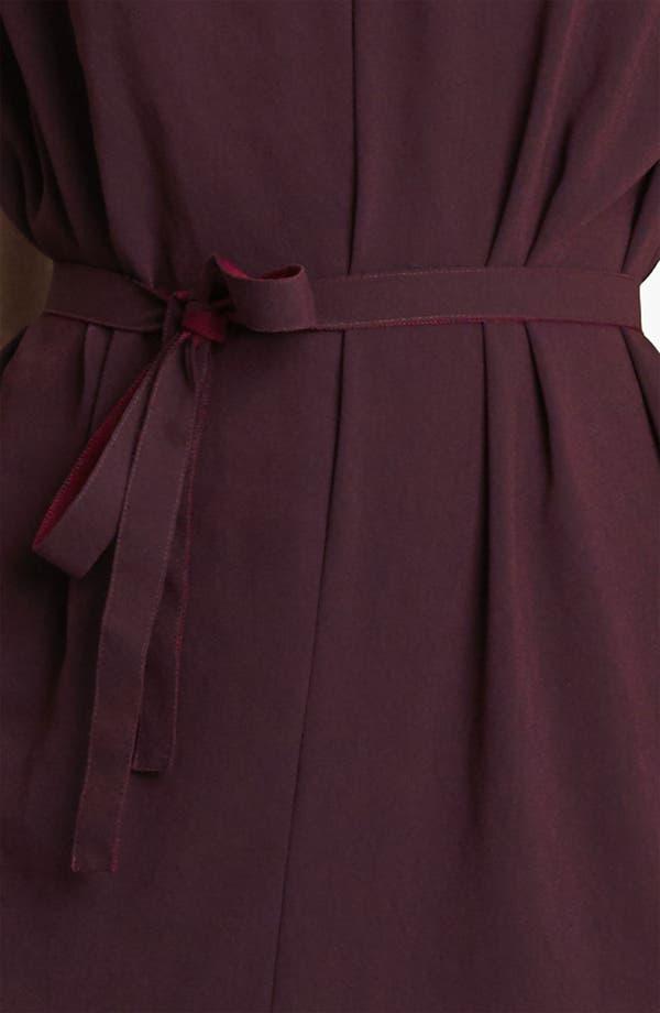 Alternate Image 2  - Lanvin Belted Crepe Dress
