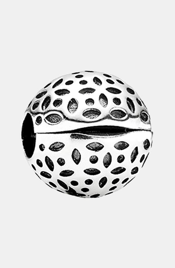 Alternate Image 1 Selected - PANDORA 'Art Nouveau Lace' Clip Charm