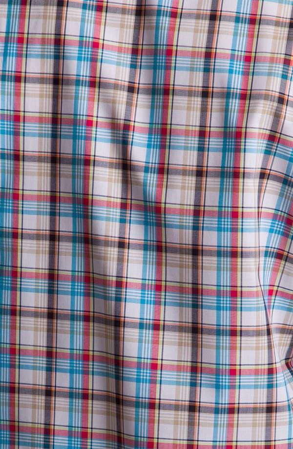 Alternate Image 3  - Façonnable Classique Fit Cotton & Linen Sport Shirt