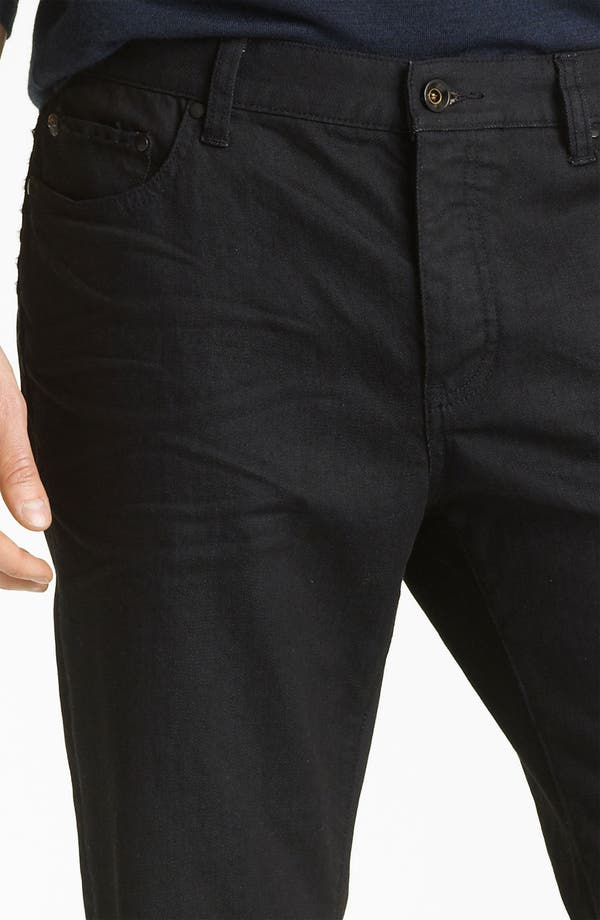 Alternate Image 3  - John Varvatos Collection Slim Fit Jeans (Navy Wash)