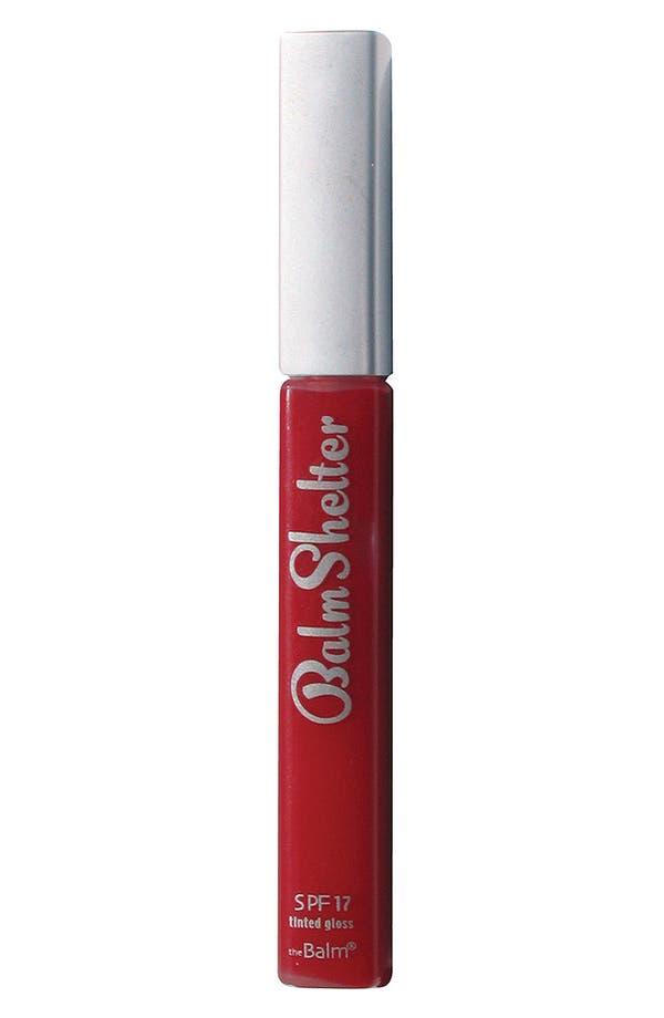 Alternate Image 1 Selected - theBalm 'BalmShelter®' Tinted Lip Gloss SPF 17