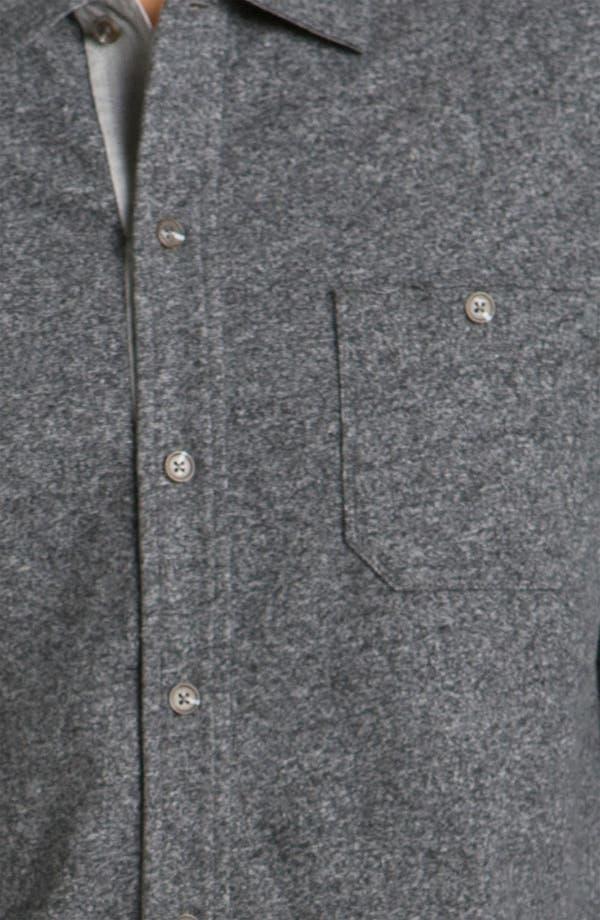 Alternate Image 3  - Hickey Freeman Knit Cotton Sport Shirt