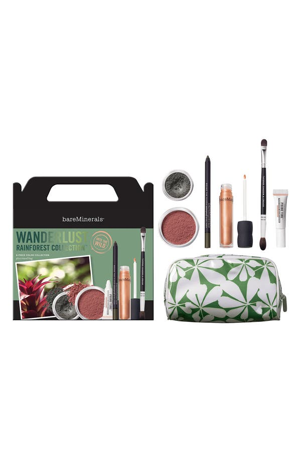 Alternate Image 1 Selected - bareMinerals® 'Wanderlust Rainforest' Makeup Collection ($104 Value)