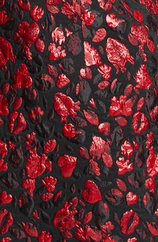 Alternate Image 3  - Thakoon Lip & Heart Print Jacquard Dress