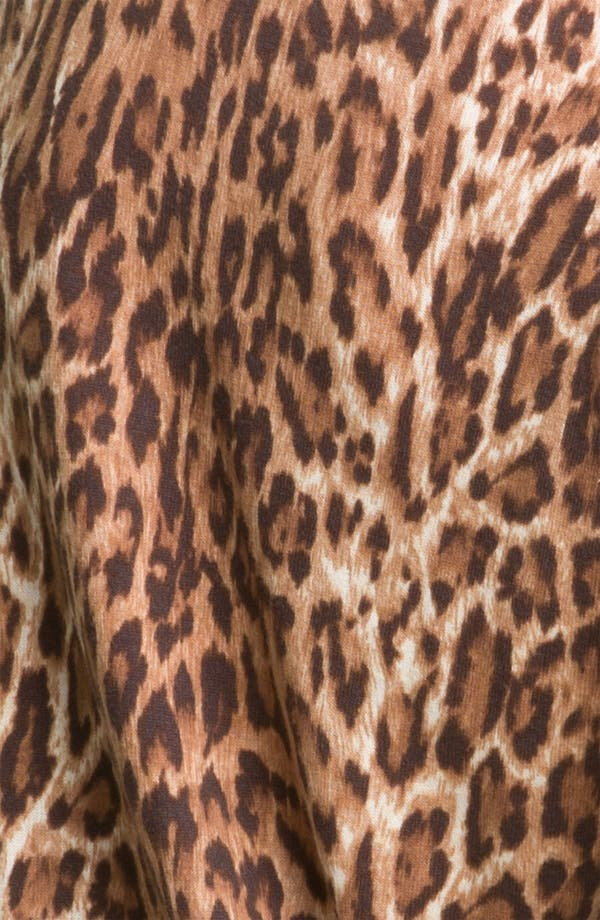 Alternate Image 3  - Lucky Brand Cheetah Print Cardigan