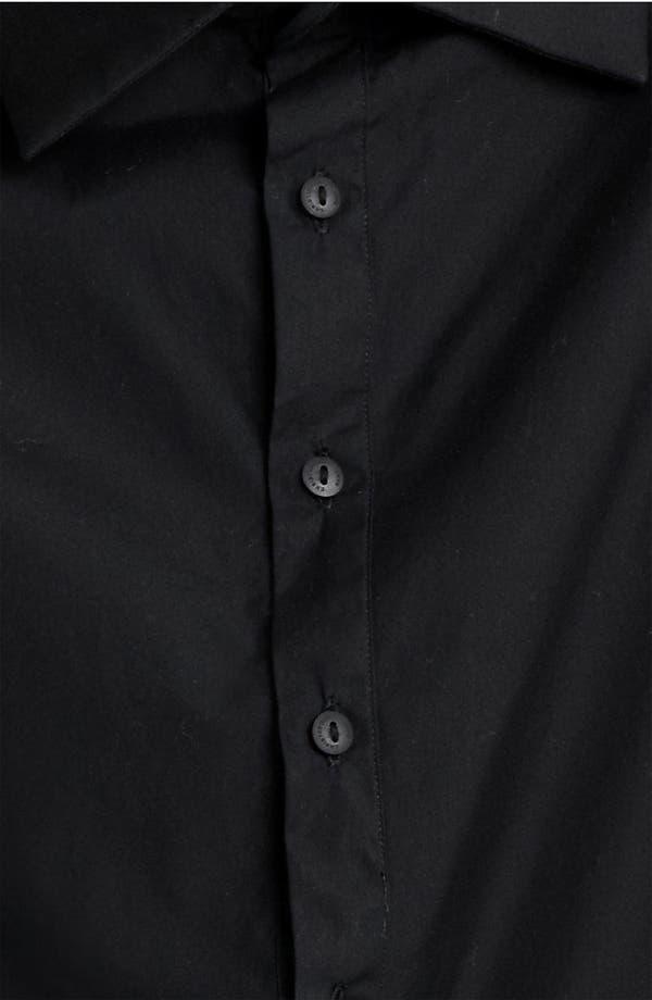 Alternate Image 3  - Christopher Kane Leather Sleeve Poplin Tunic