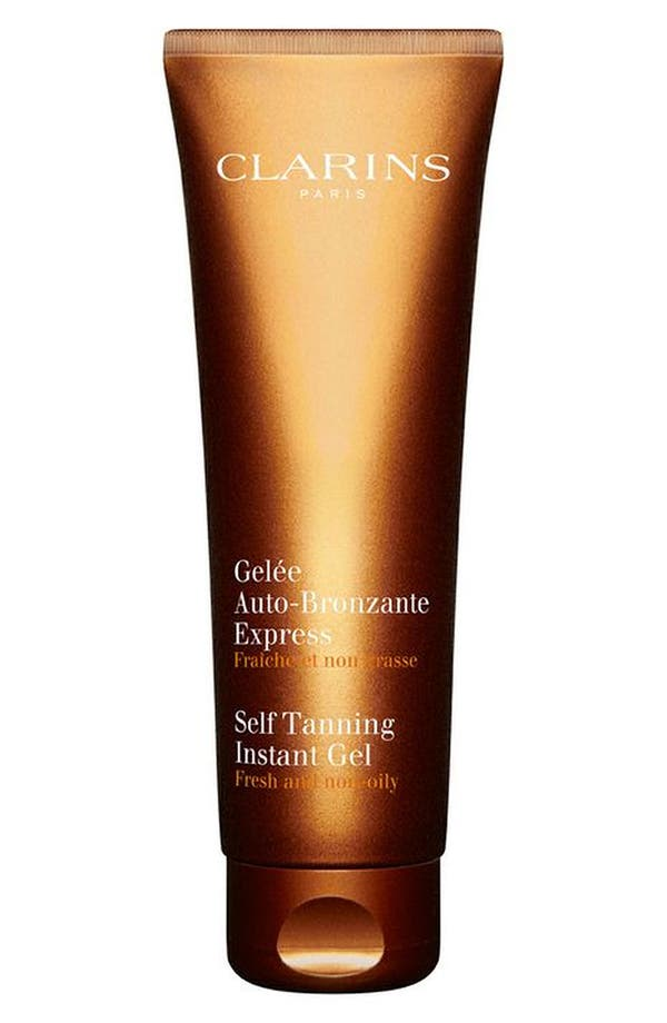 Alternate Image 1 Selected - Clarins Self Tanning Instant Gel