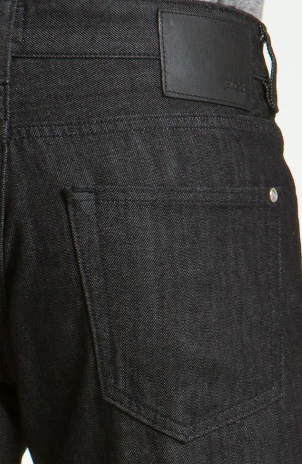 Alternate Image 4  - BOSS Black 'Kansas' Straight Leg Jeans