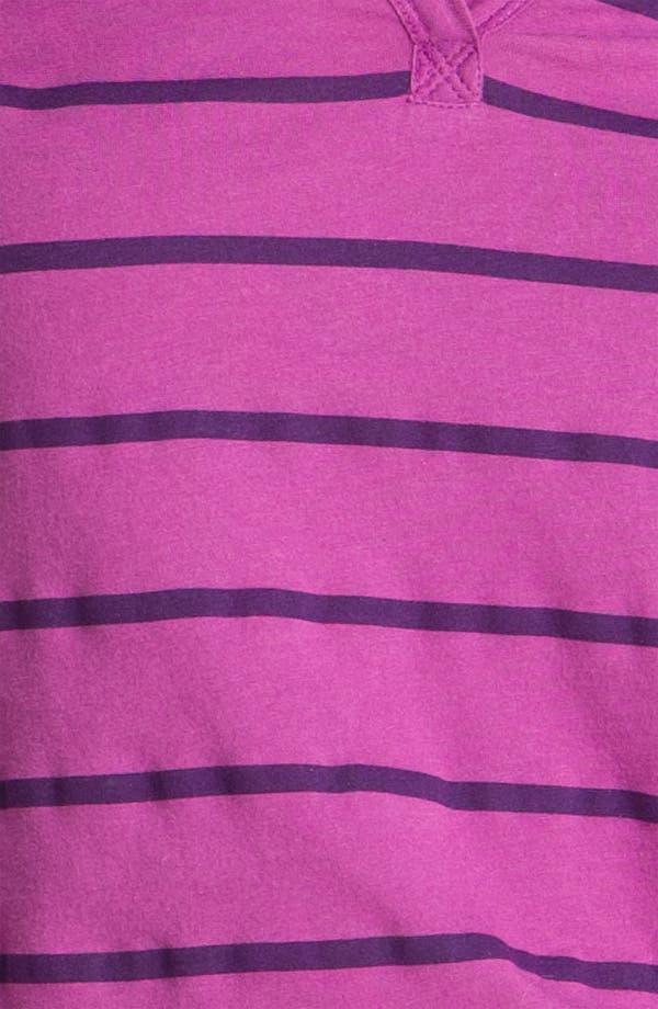Alternate Image 3  - Caslon® Stripe Split Neck Tee