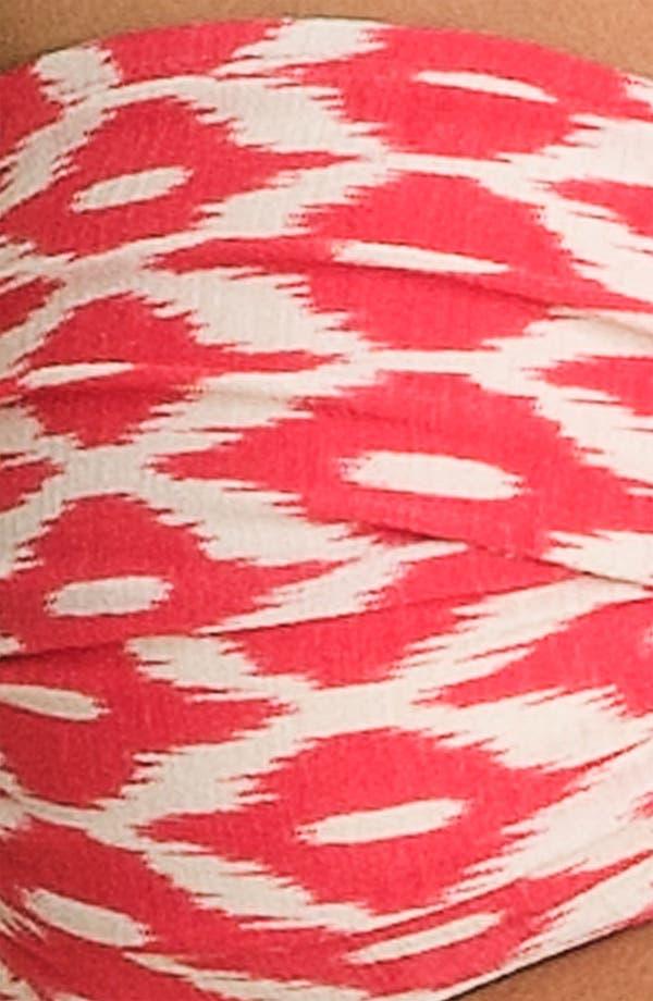 Alternate Image 4  - Robin Piccone 'Ikat Twist' Bandeau Bikini Top