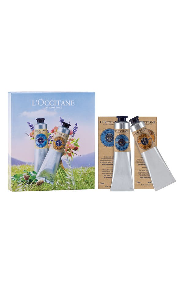 Alternate Image 1 Selected - L'Occitane Shea Butter Hand & Foot Cream Duo (Nordstrom Exclusive) ($44 Value)