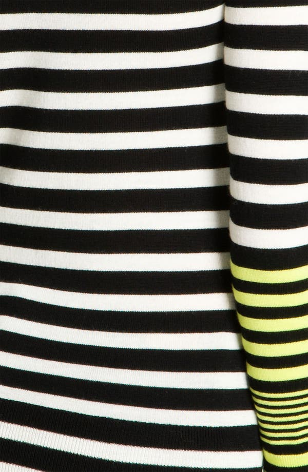 Alternate Image 3  - Juicy Couture Stripe Turtleneck
