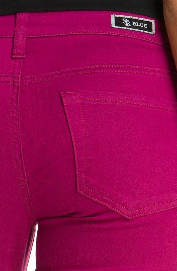 Alternate Image 3  - See Thru Soul 'Fame' Color Denim Skinny Jeans (Juniors)