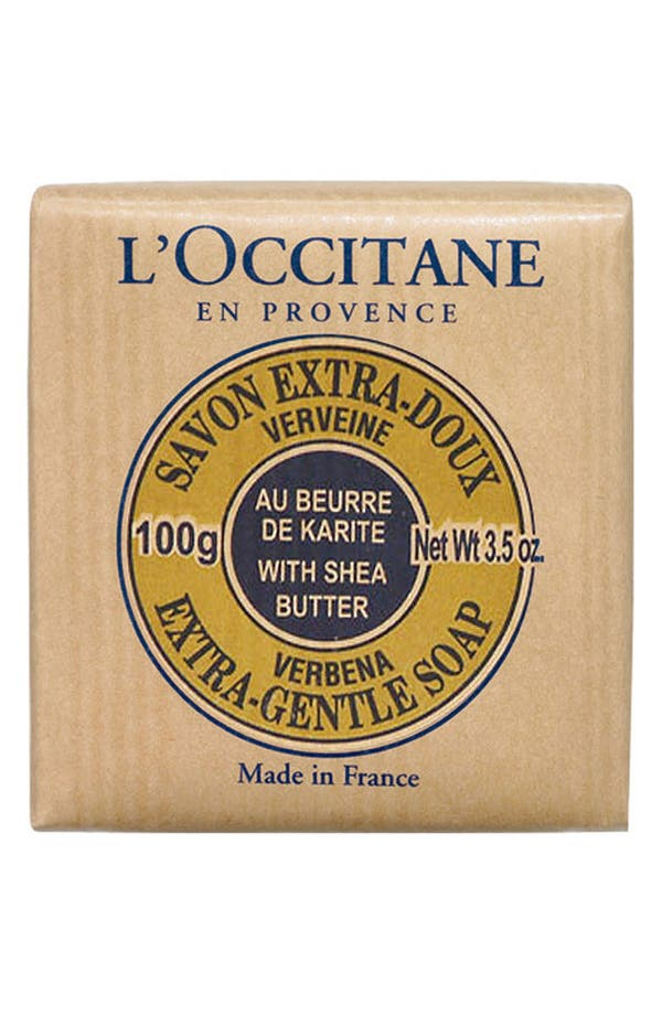 Alternate Image 1 Selected - L'Occitane 'Verbena' Shea Soap - Travel Size