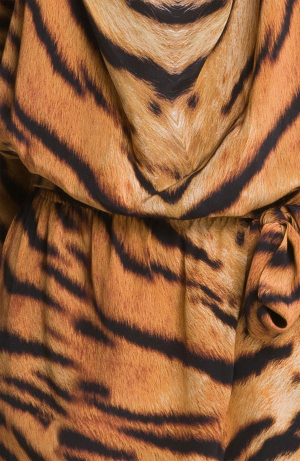 Alternate Image 3  - Haute Hippie 'Waiting for the Man' Tiger Print Dress