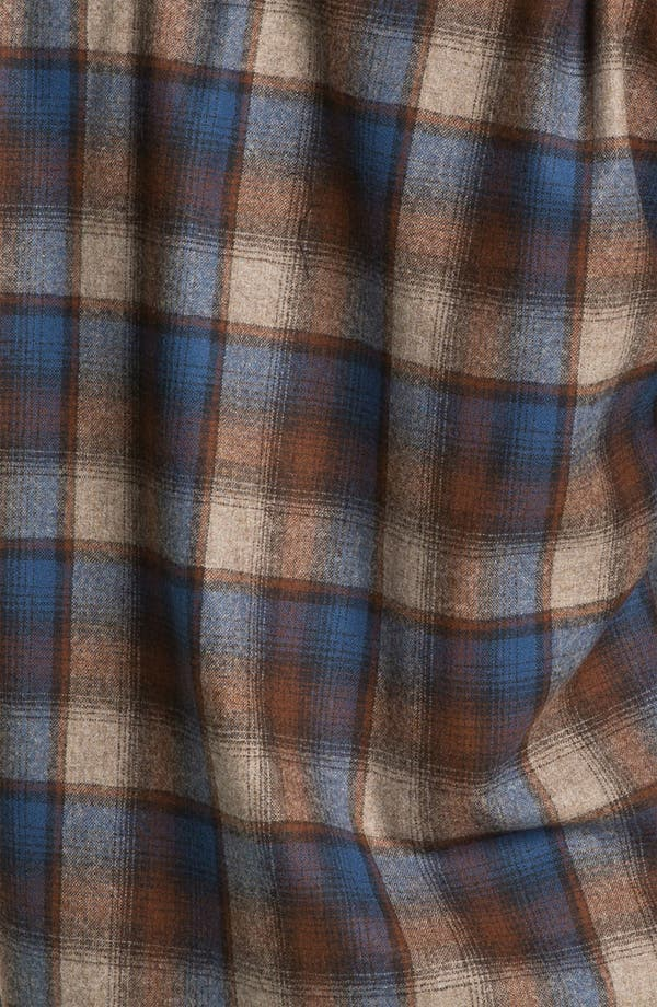 Alternate Image 3  - Pendleton 'Fireside' Fitted Plaid Wool Flannel Shirt