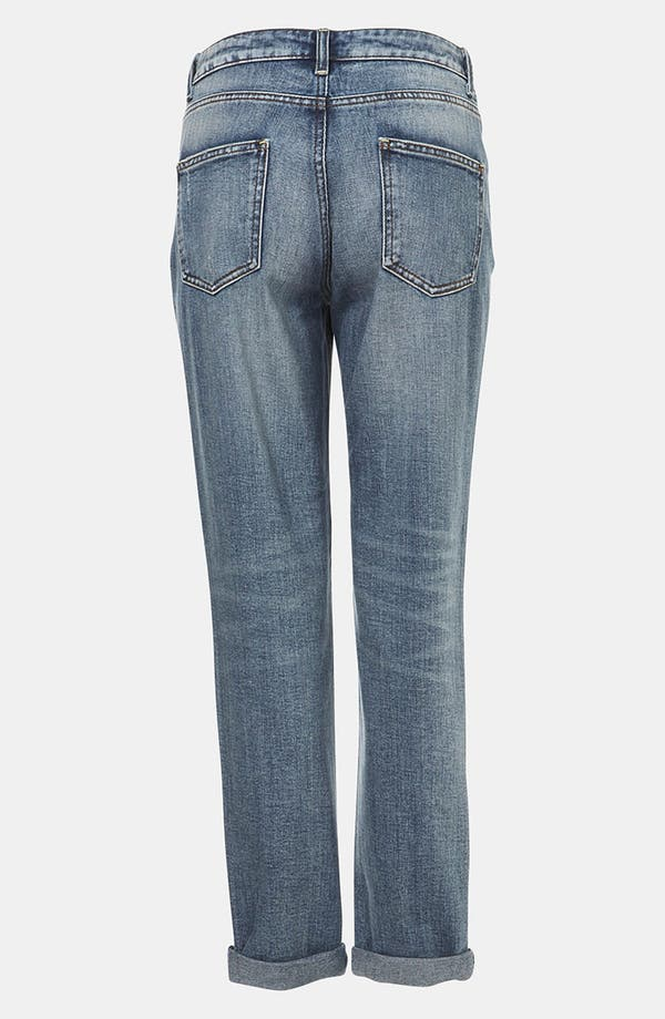 Alternate Image 2  - Topshop 'Evie' Distressed Slim Moto Maternity Jeans