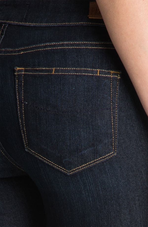 Alternate Image 3  - PAIGE 'Skyline' Straight Leg Stretch Denim Jeans (Stream Wash)