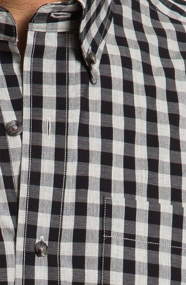 Alternate Image 3  - Cutter & Buck 'Tusk' Check Sport Shirt (Big & Tall)