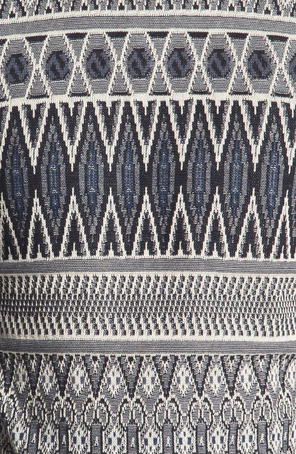 Alternate Image 3  - Topman Tapestry Print Knit Crewneck Sweater