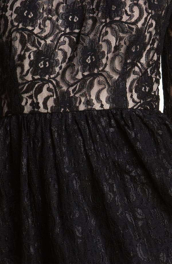 Alternate Image 3  - Maggy London Lace Fit & Flare Dress