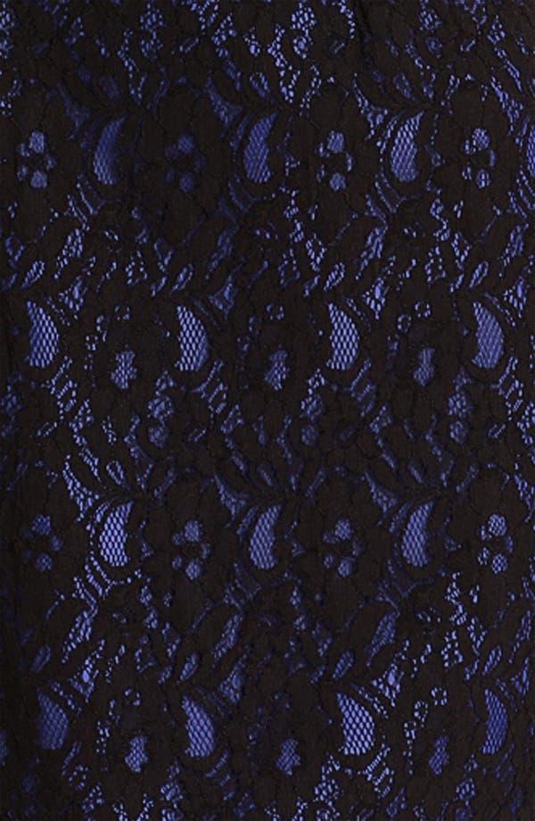 Alternate Image 3  - Calvin Klein Sleeveless Lace Overlay Sheath Dress