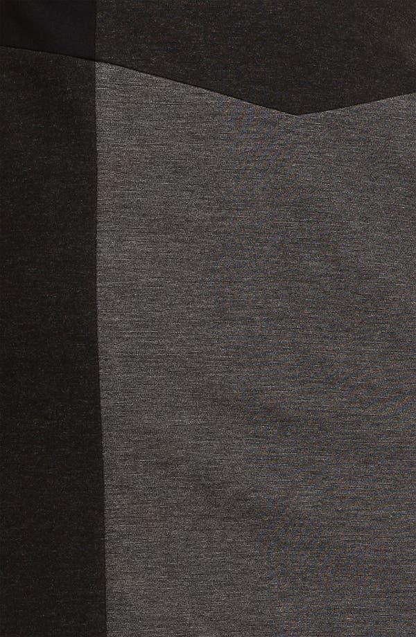 Alternate Image 3  - Halogen® Colorblock Ponte Skirt