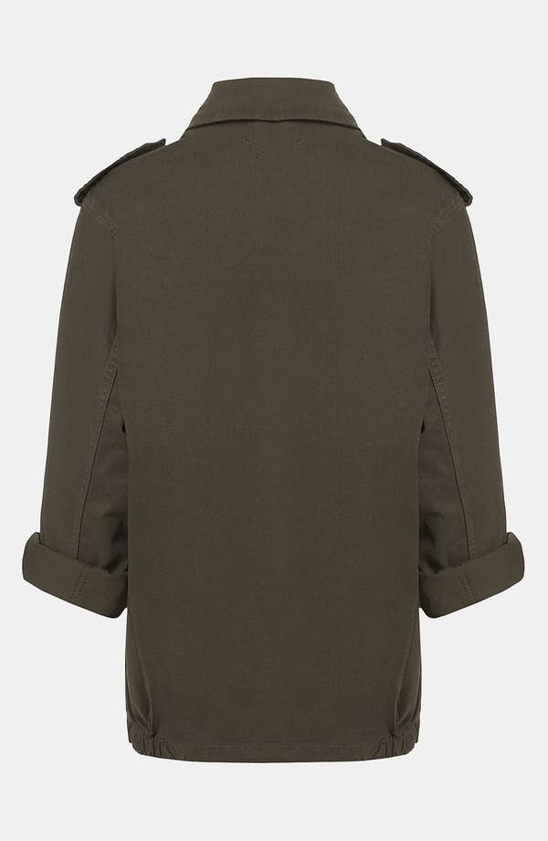 Alternate Image 2  - Topshop Army Jacket