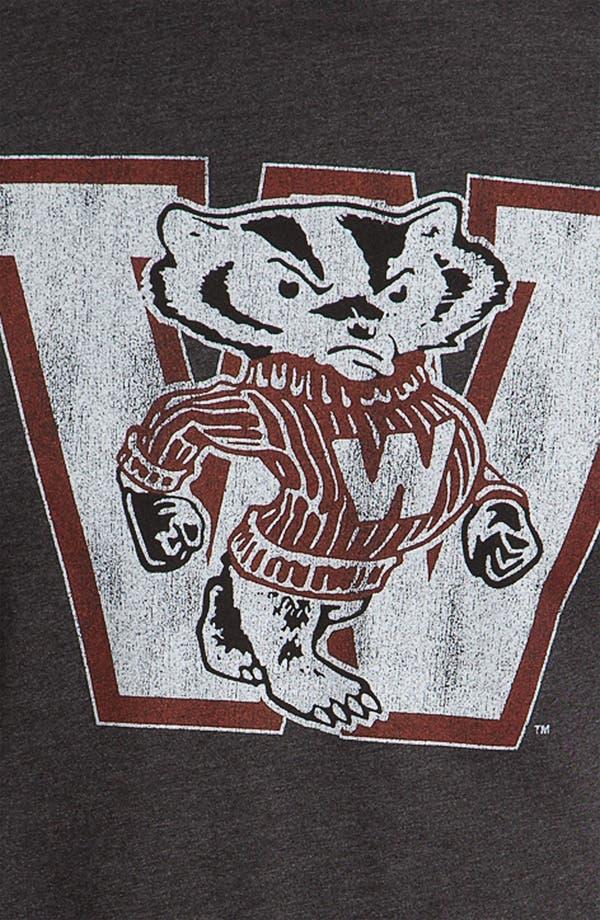 Alternate Image 3  - The Original Retro Brand 'Wisconsin Badgers' T-Shirt