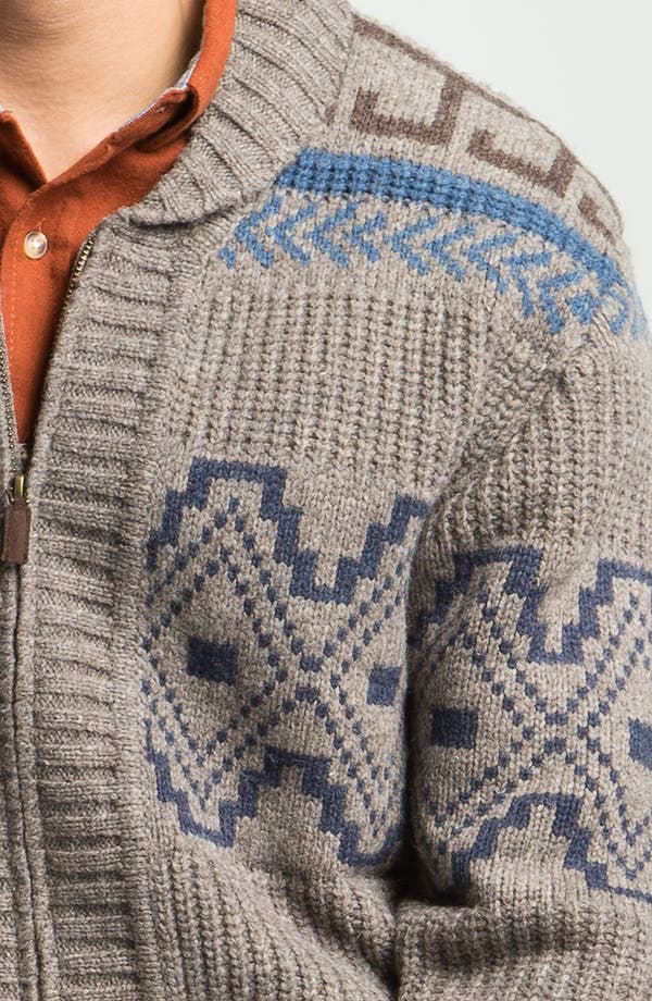 Alternate Image 3  - Pendleton Shawl Collar Sweater
