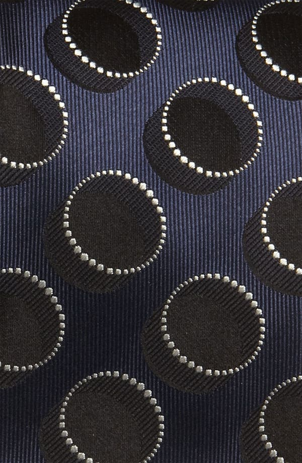 Alternate Image 2  - BOSS Black Woven Silk Tie (Tall) (Online Exclusive)