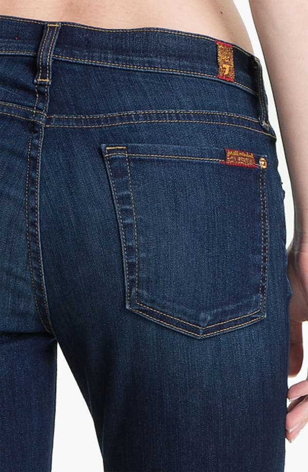 Alternate Image 3  - 7 For All Mankind® 'The Slim Cigarette' Stretch Jeans (Sophisticated Siren)