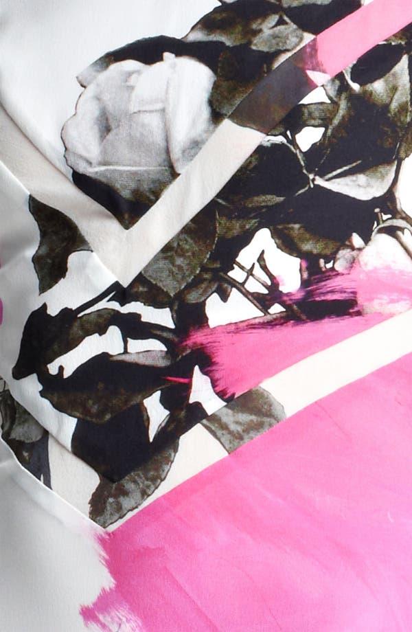 Alternate Image 3  - Christopher Kane Print Flounce Hem Dress