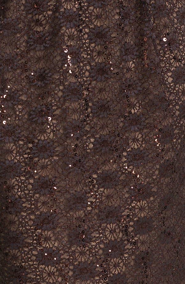 Alternate Image 3  - Alex Evenings Belted Lace Sheath Dress (Plus)