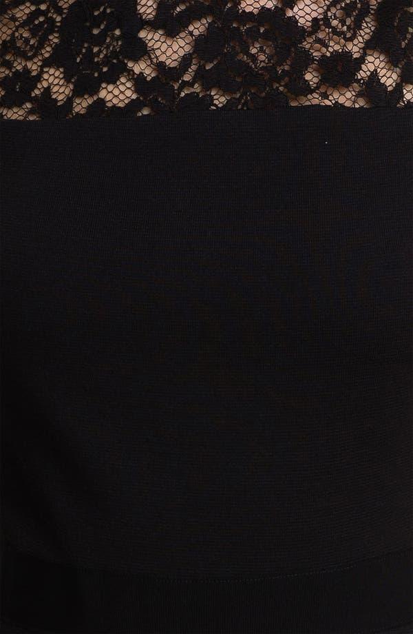 Alternate Image 3  - Tory Burch 'Adrianna' Wool Blend A-Line Dress