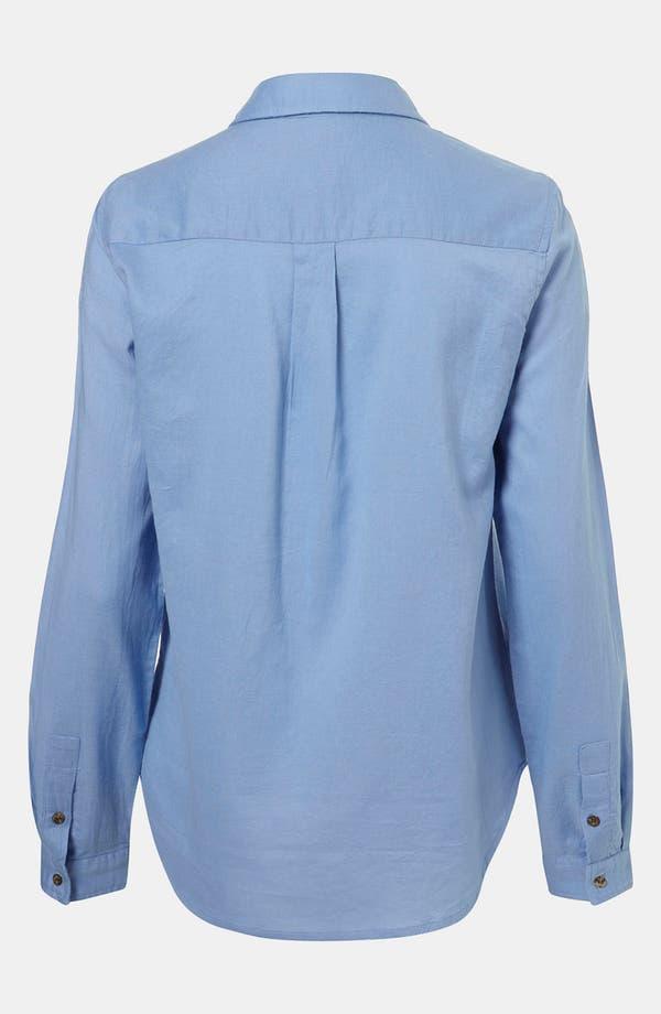 Alternate Image 2  - Topshop Oxford Shirt