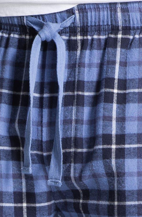 Alternate Image 3  - 1901 Flannel Sleep Pants