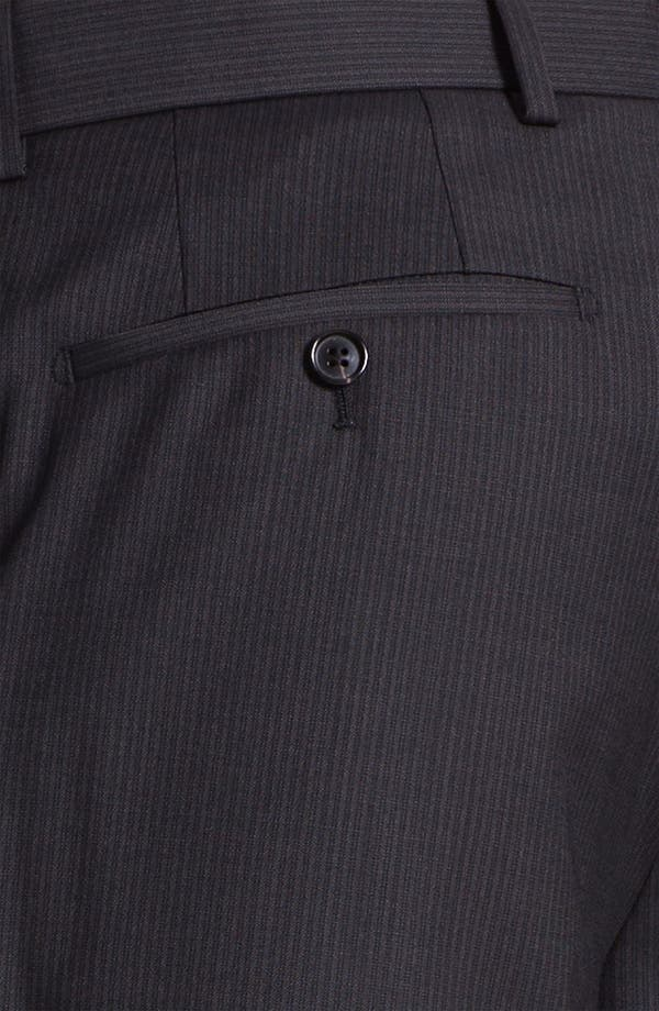 Alternate Image 3  - BOSS Black 'James' Flat Front Trousers