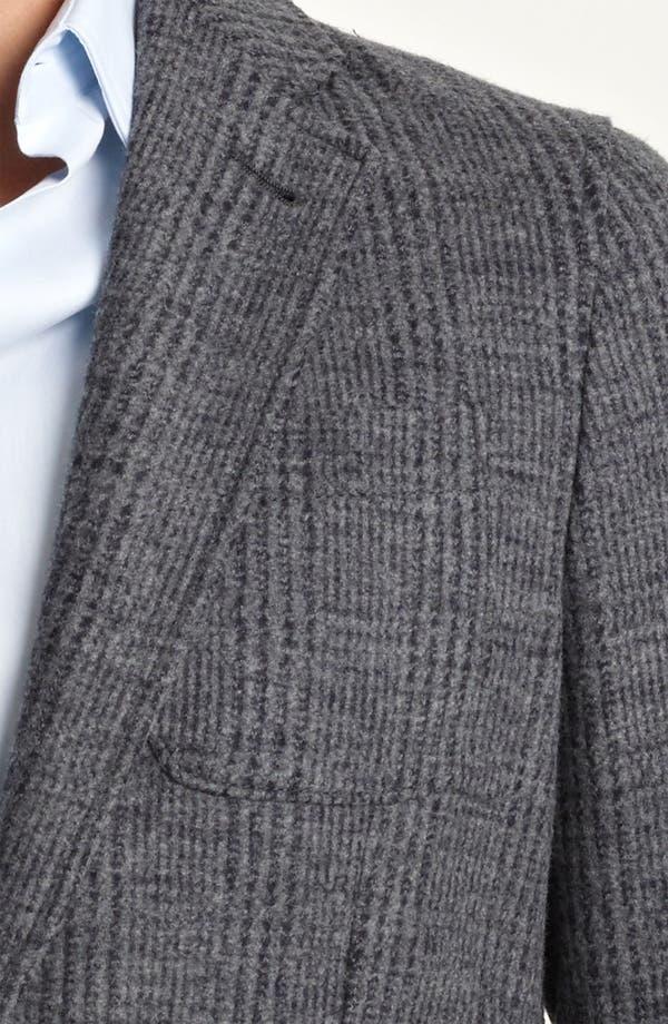 Alternate Image 3  - Armani Collezioni Trim Fit Knit Blazer