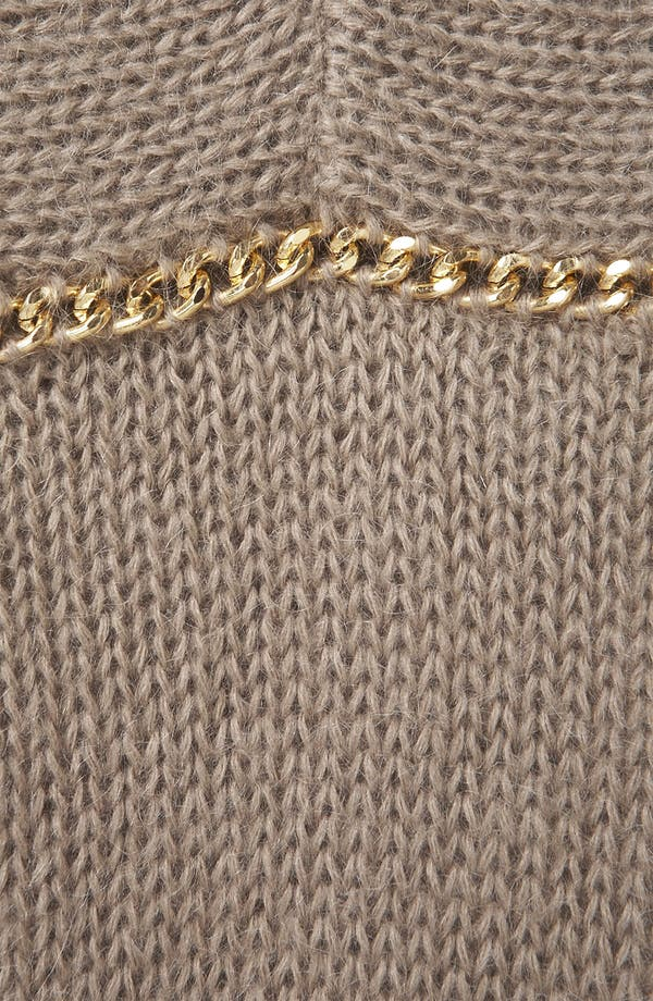 Alternate Image 3  - Topshop Chain Trim Sweater
