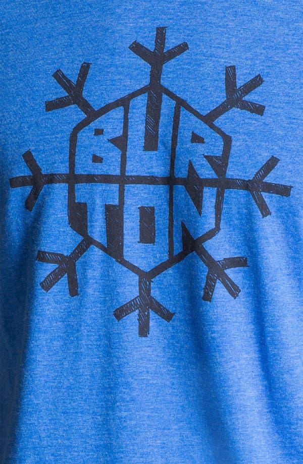 Alternate Image 3  - Burton 'Flake' Graphic T-Shirt
