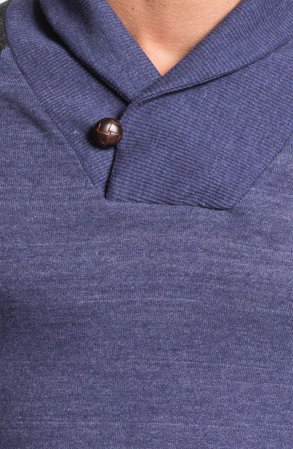 Alternate Image 3  - Alternative 'Oliver' Shawl Collar Sweatshirt