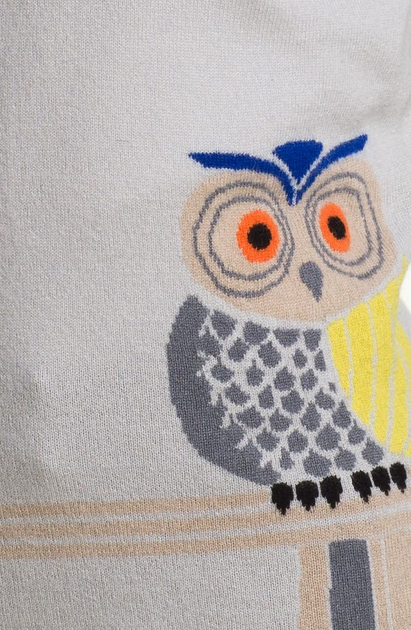 Alternate Image 3  - Christopher Fischer Owl Intarsia Cashmere Sweater